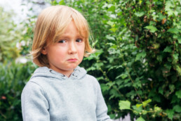 Disappointed Child