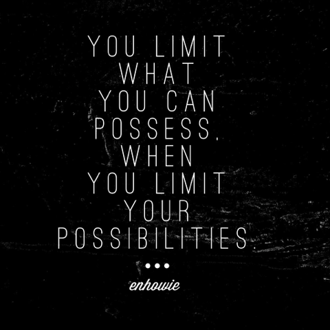 Quote on Possibilities