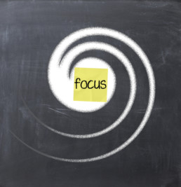 Solutions Require Focus