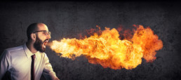 Man Breathing Fire