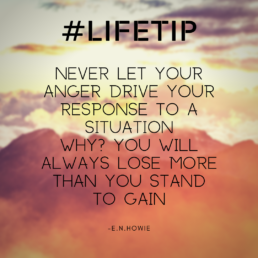 LifeTip on Anger